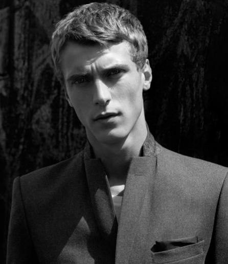 Clément Chabernaud by Alasdair McLellan for Filippa K, F/W 2011-12
