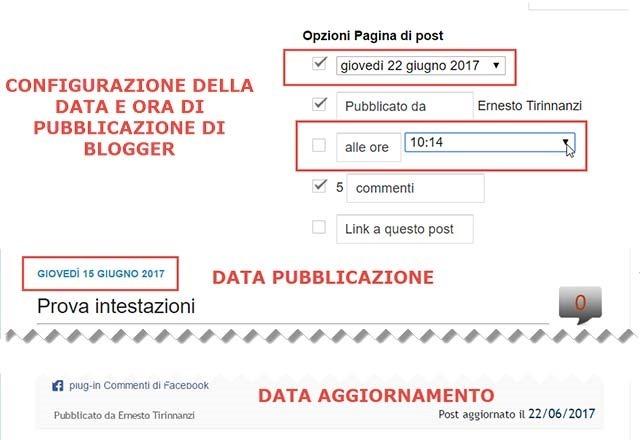 data-aggiornamento-blogger