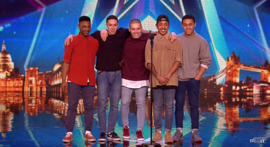 BoyBand with Pinoy' Britain's Got Talent Audition