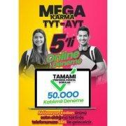 Mega Karma TYT AYT 5+5 Online Deneme Sınavı