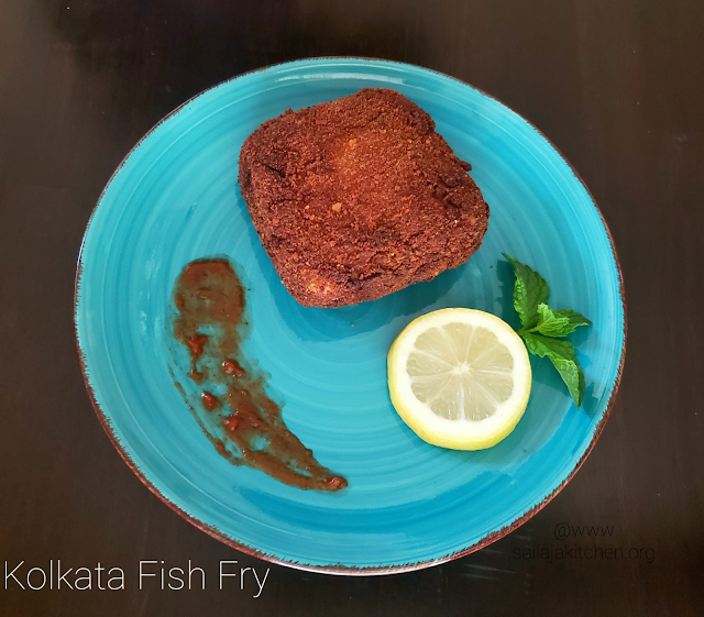 images of Kolkata Fish Fry Recipe / Bengali Style Fish Fry / A Kolkata Street Food / Bengali Style Crispy Fish Cutlet / Fish Fry Kolkata Style