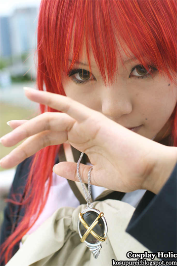 shakugan no shana cosplay - flame shana