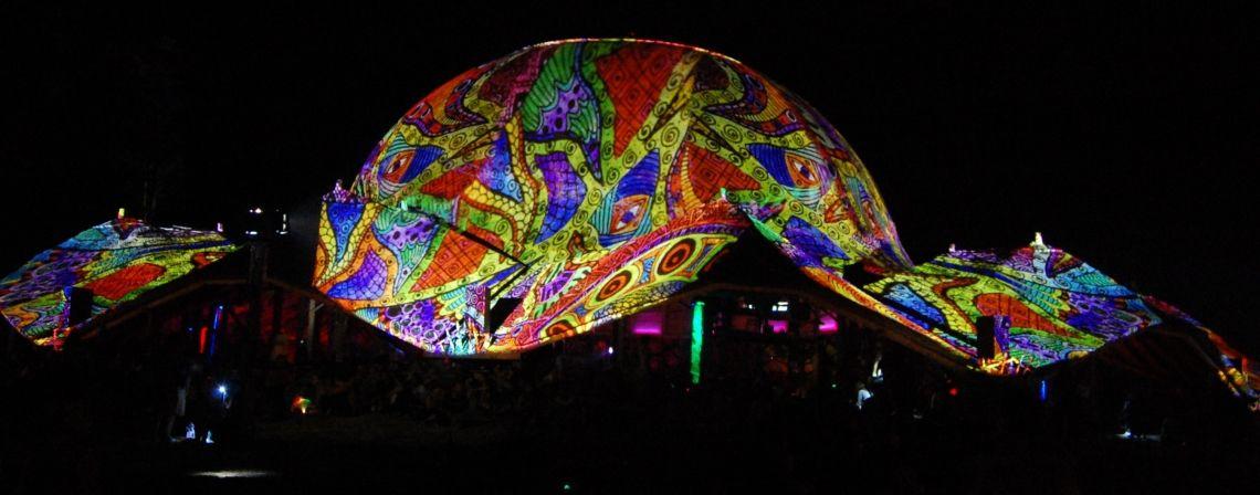 Танцпол на Ozora festival