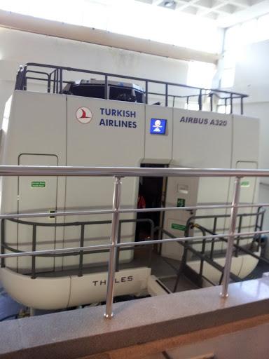 Multimillion dollar flight simulator for pilot training