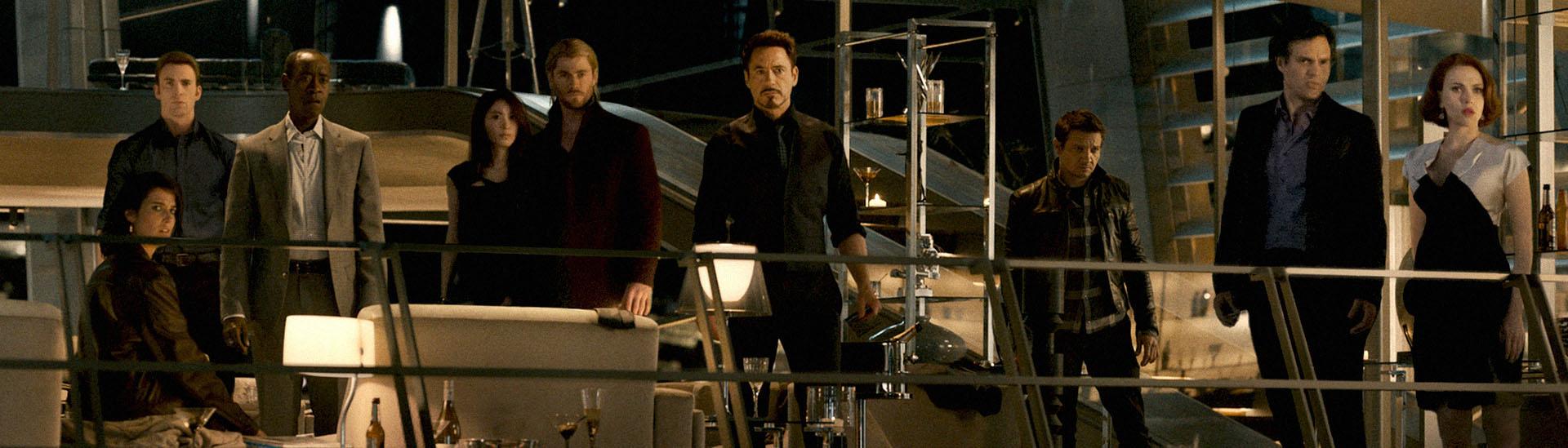 Baner filmu 'Avengers: Czas Ultrona'