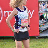 OIC - ENTSIMAGES.COM - Sophie Raworth at the  Virgin Money London Marathon on Blackheath in London, England. 24th April 2016 Photo Mobis Photos/OIC 0203 174 1069