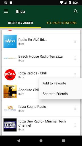 Ibiza Radio Stations screenshot 1