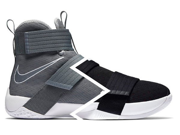 Nike LeBron Soldier 10 Cool Grey amp Bred Available at NDC