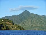 Tuntuli as seen from the boat near Pulau Pura (Dan Quinn, July 2013)