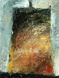 la cloche / huile toile / 60x80 / 1995
