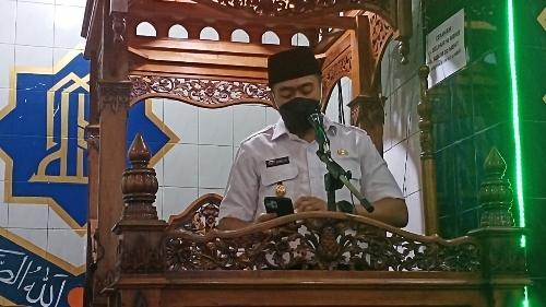 Wagub Audy Joinaldy Kagum Masjid Tertua di Padang Berusia 216 Tahun