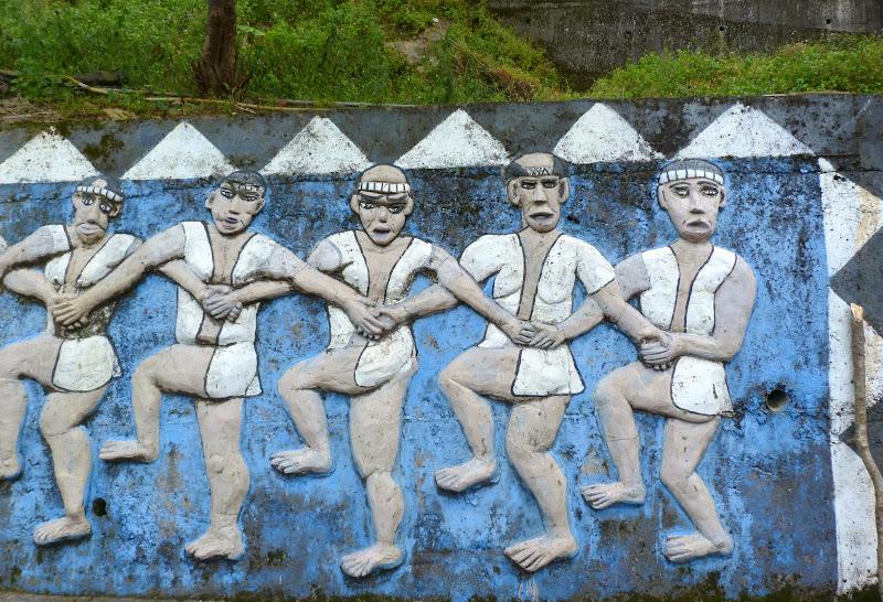 Puli  en passant , entre autres, par les villages de l ethnie Bunum de Loloko et Dili. J 10 - P1170112.JPG