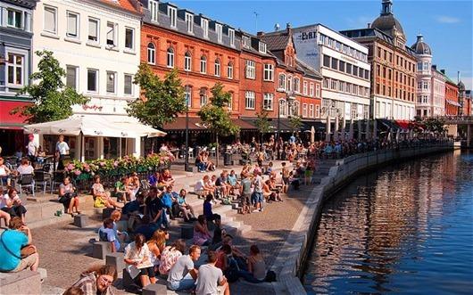 Город-Орхус-Дания