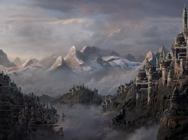 Great Kingdom Of Snow, Magical Landscapes 1
