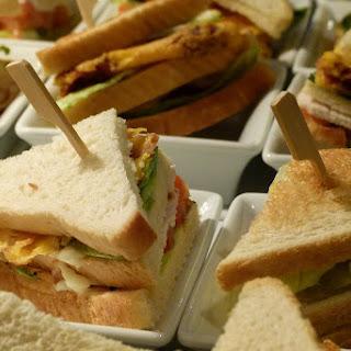 Chicken Club Sandwich.