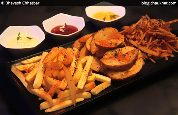 Basket of Potatoes, BarBar, Phoenix Market City, Viman Nagar, Pune