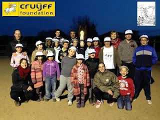 Amb la Fundació Johan Cruyff