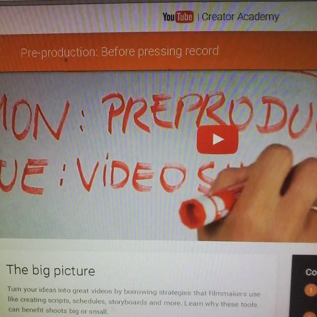 Sekelumit Tentang Youtube Academy