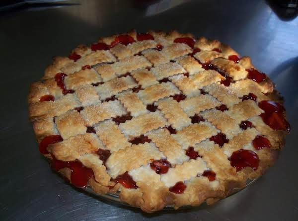 Cherry-almond Pie Recipe