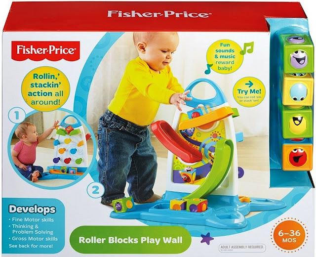 Tường chơi bóng lăn Fisher Price tuyệt đối an toàn cho bé