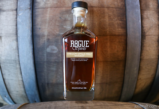 Rogue Releases 5-Year Oregon Single Malt Whiskey