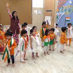 Independence Day & Janmashtami Celebration of Nursery Evening Section at Witty World, Chikoowadi (2017-18)