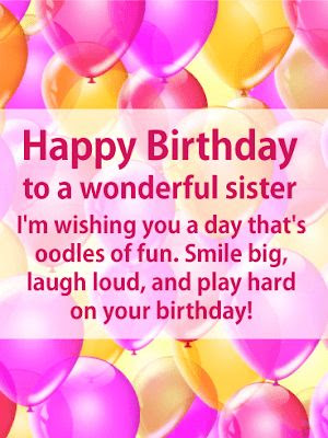 happy birthday sister pinterest images