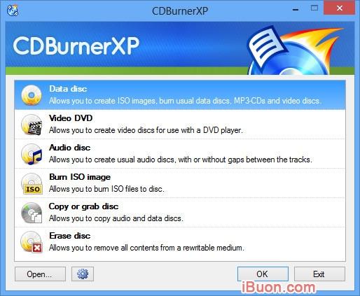 Ảnh mô phỏngTải phần mềm ghi đĩa CDBurnerXP miễn phí bản quyền - cdburnerxp