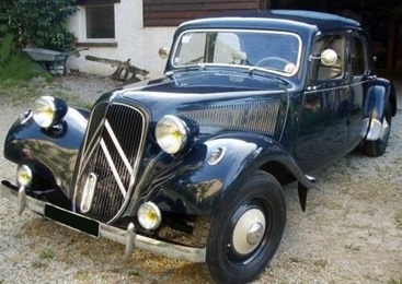 Citroën Traction 11 BL bleu 1954 bleu nuit