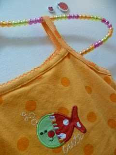 [G015]Carter Cute Little Fish Romper