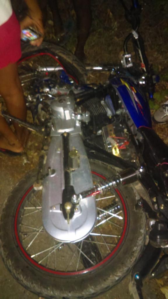 Accidente de tránsito deja dos muertos y dos mujeres heridas en Las Galeras de Samaná.