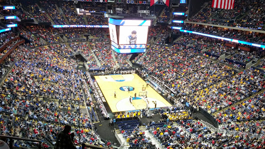 Friday afternoon in Columbus at the NCAA MEN'S TOURNAMENT