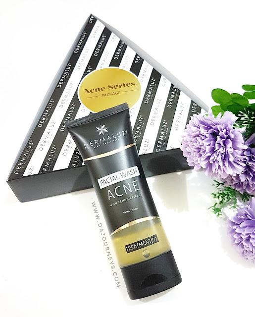 Review Dermaluz Facial Wash Acne with Ekstrak Lemon