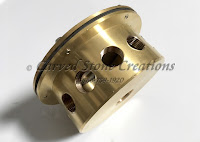 Brass Under Water Junction Box - 12 Outlet