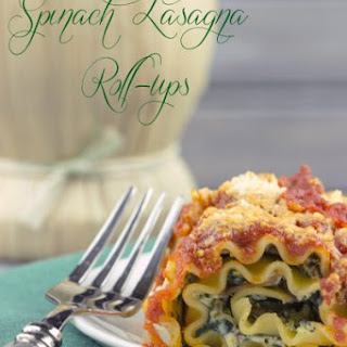Lasagna Rolls with Spinach