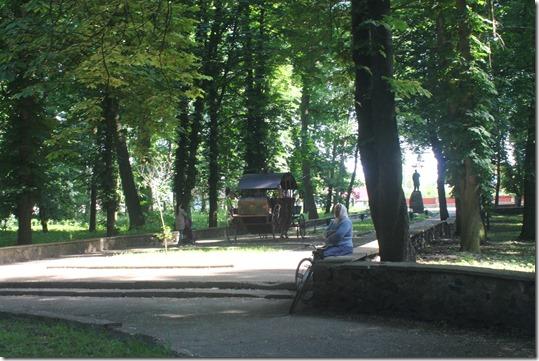 Гоща, парк