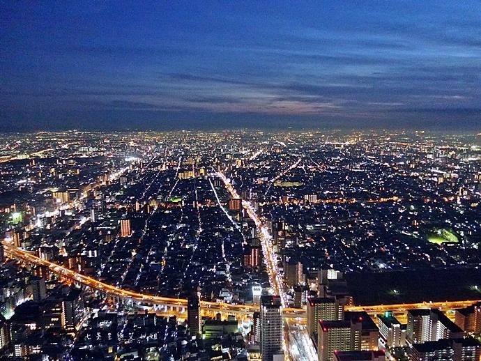 34 日本大阪 阿倍野展望台 HARUKAS 300 日本第一高摩天大樓 360度無死角視野 日夜皆美
