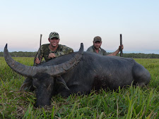 Mr Anderson, USA, shot this great old bull with a 470 double rifle on the last day of his safari. Hard to beat that!