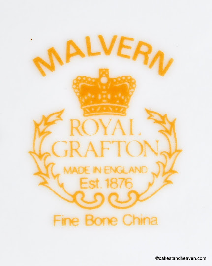 Royal Grafton Malvern Back Stamp