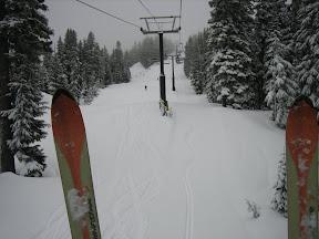 my fat (pow)Der skiis, and plenty of Der
