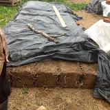 Budowa domu z gliny w Marszewie