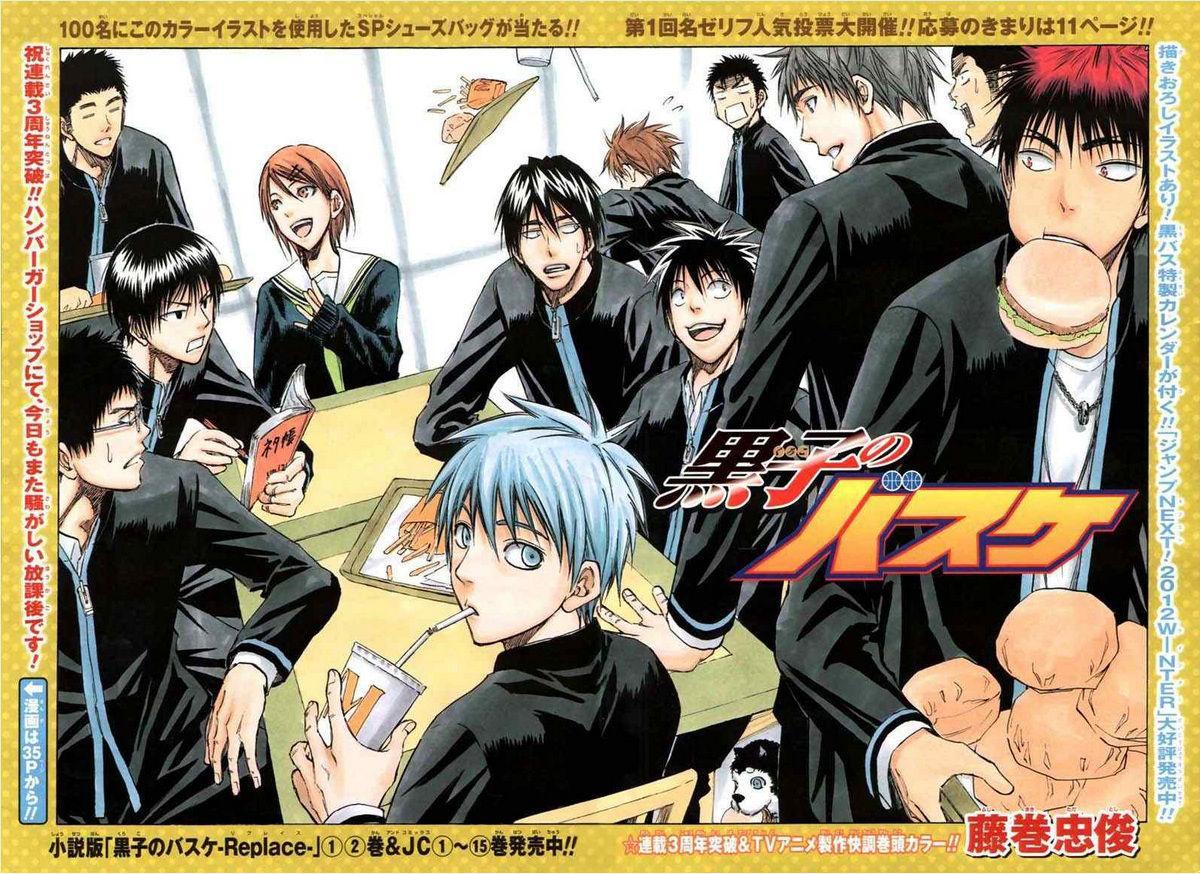 Kuroko no Basket Manga Chapter 148 - Image 01-02
