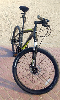 MTB Fuji Nevada One.9 26'' am Jazair Beach, Bahrain