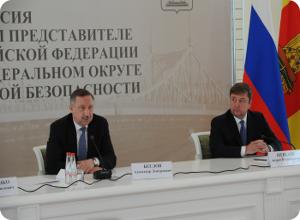 Полномочный представитель Президента РФ в ЦФО посетил Тверскую область