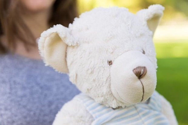 Rowans Bear %5C Send a bear to grieving parents, miscarriage gift, miscarriage awareness