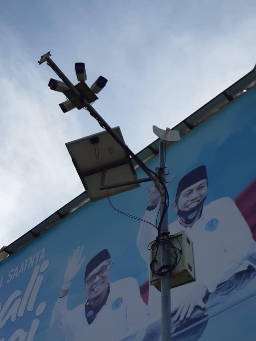 Ingin Tiru Bandung,  Proyek CCTV Dishub Malah Mubazir