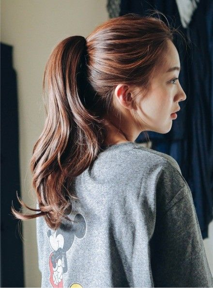 Korean Ponytail Hairstyles Female-The Most Alluring 2018 2