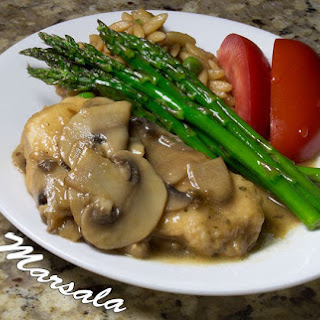 Chicken Marsala - My Way
