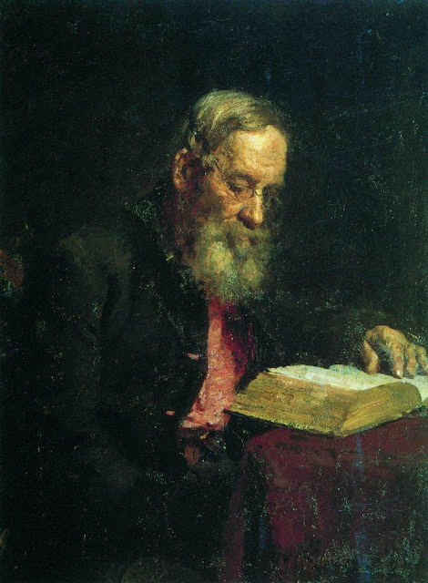 Ilia Repin - Portrait of Yefim Vasilyevich Repin, the artist's father