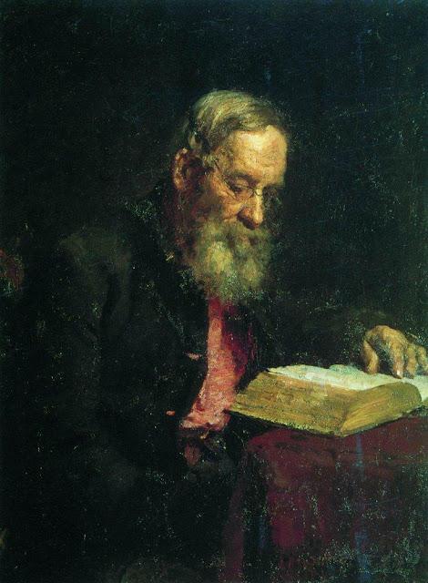 Ilia Repin - Portrait of Yefim Vasilyevich Repin, the artist's father
